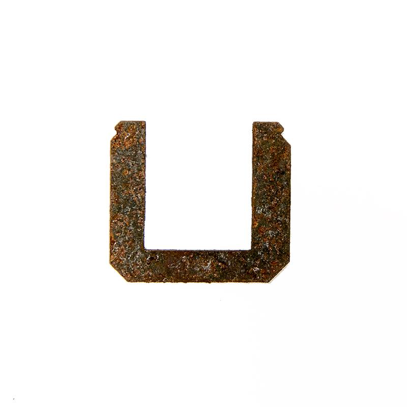 pozůstatky vypálených transformátorů U